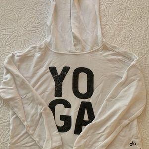 Alo Yoga Cropped Hoodie